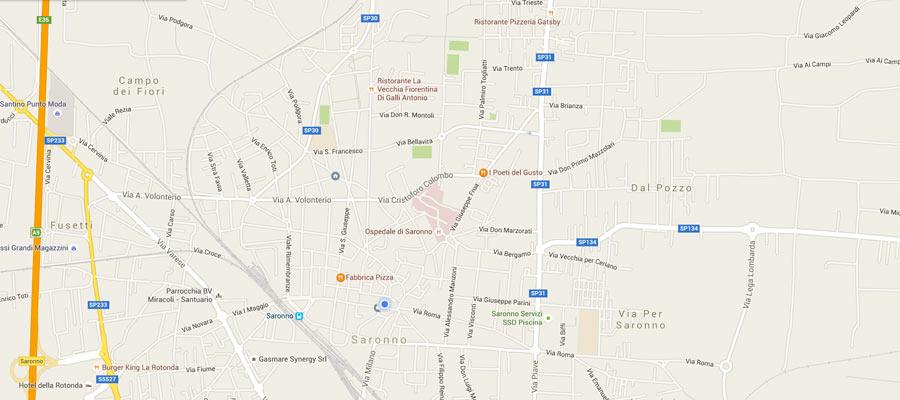 Interfaccia Servizio Google Maps