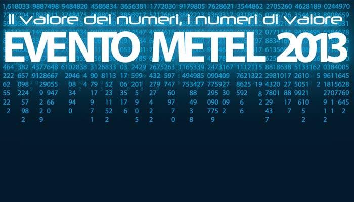Logotipo Ufficiale Evento Metel 2013