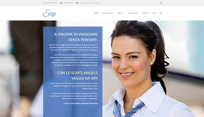 Online Il Nuovo Sito Scay Angels Realizzato Per Class