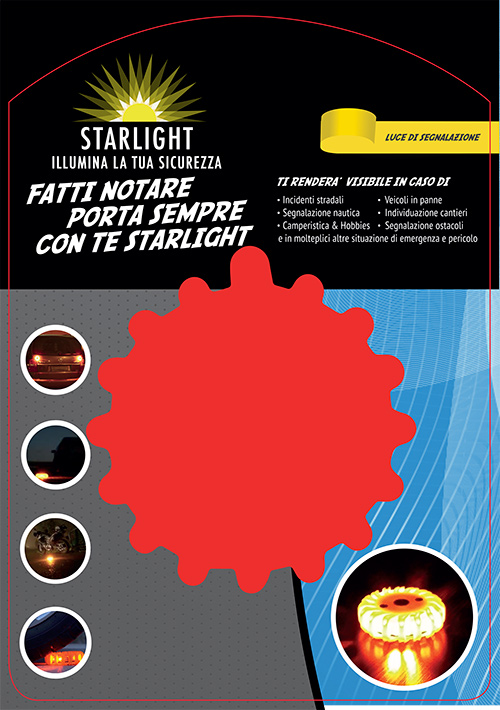 Packaging Starlight NON Ricaricabile Fronte