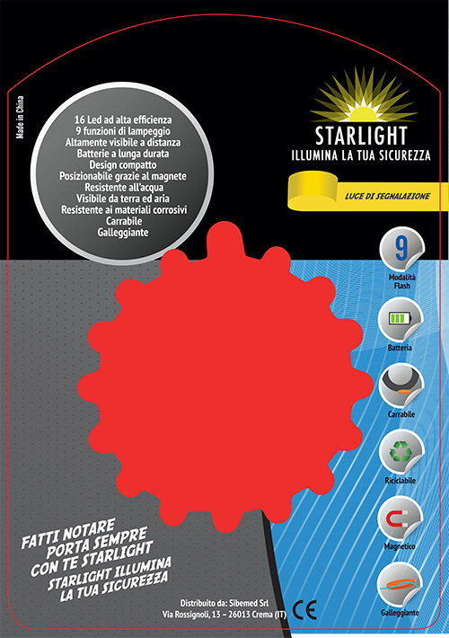 Packaging Starlight NON Ricaricabile Retro