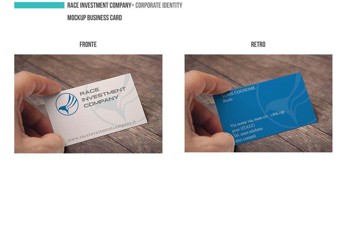 Presentazione Corporate Identity RACE INVESTMENT COMPANY Page 01