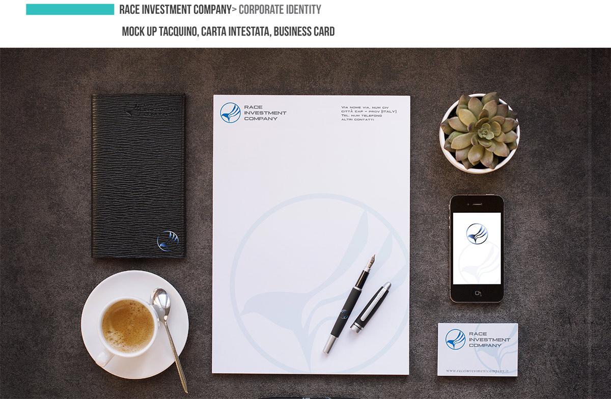 Presentazione Corporate Identity RACE INVESTMENT COMPANY Page 02