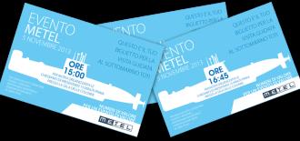 Progetto Grafico – Biglietto Invito Visita Al Sottomarino Toti – Evento Metel 2013