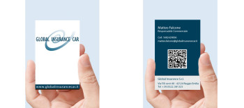 Progetto Grafico Nuova Corporate Identity Per Global Insurance Car