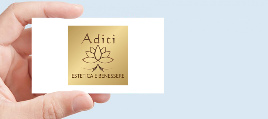 Progetto Grafico: Nuovo Logotipo Aditi Estetica E Benessere