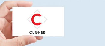 Progetto Grafico Nuovo Logotipo CUGHER Glass