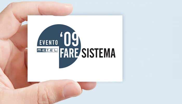 Progetto Grafico Logotipo Evento Metel 2009