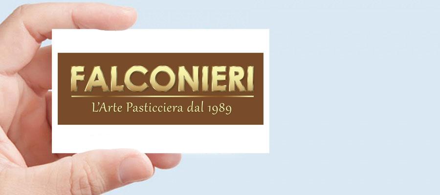 Progetto Grafico Logotipo Falconieri L'Arte Pasticciera Dal 1989