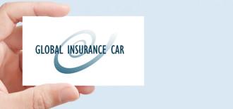 Progetto Grafico Logotipo GlobalInsuranceCar