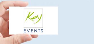 Progetto Grafico Logotipo Key Events