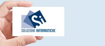 Progetto Grafico Logotipo Soluzioni Informatiche