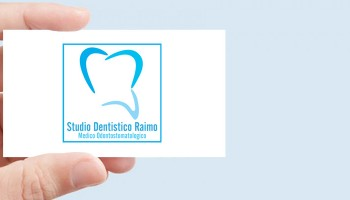 Progetto Grafico Logotipo Studio Dentistico Raimo