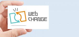 Progetto Grafico Logotipo Web Change