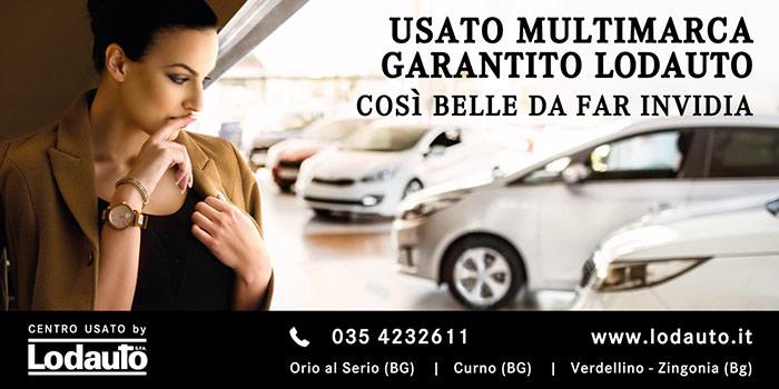 Progetto Grafico Pubblicità Per Lodauto Concessionaria Mercedes-Benz Di Bergamo