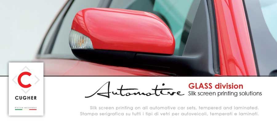 Progetto Grafico Nuova Brochure Automotive Per CUGHER Glass