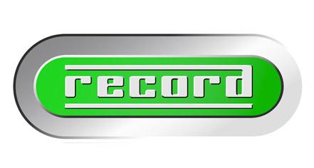 Realizzazione GRAFICA LOGOTIPO per RECORD