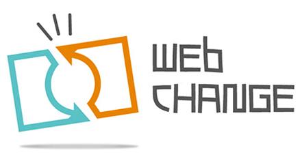 Realizzazione GRAFICA LOGOTIPO per WEB CHANGE