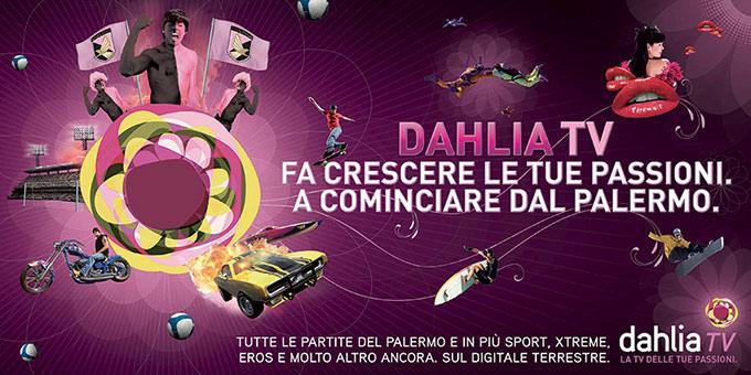 Rendering 3D Per Pubblicità Canale Televisivo Dahlia 03