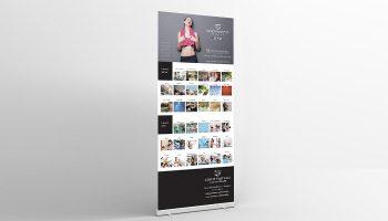 Realizzazione Progetto Grafico Roll Up Per San Marco Wellness ICLUB