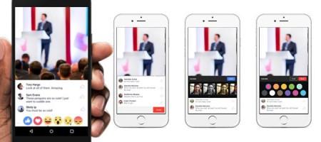 Novità Facebook: Arrivano I Video Streaming Per Gruppi Ed Eventi!
