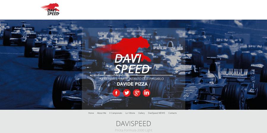 Sviluppo Sito Internet Settore Racing Di DaviSpeed: Www.davispeed.it