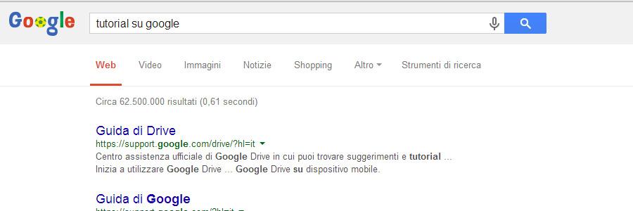 Tutorial Nella Serp Di Google