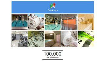 Le Foto Della Pagina Google Plus Di San Marco Wellness ICLUB Ha Raggiunto Le 100.000 View Con I Complimenti Ufficiali Di Google