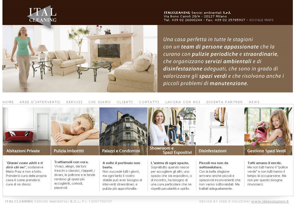 Home Italcleaning Privato