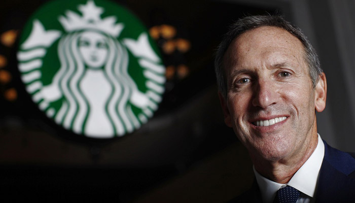 Howard Schultz, CEO Starbucks