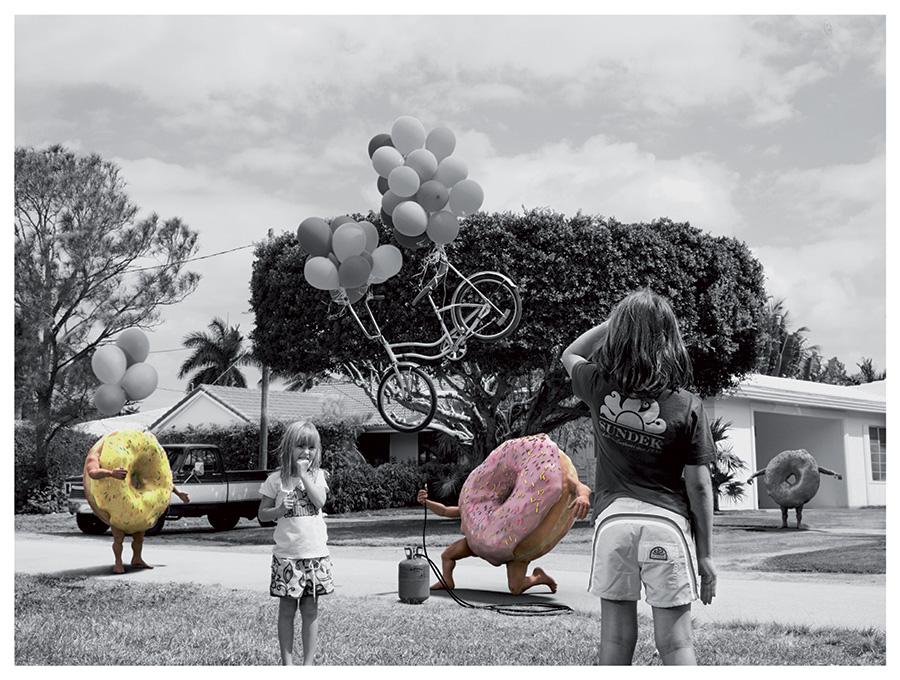 modelli 3d Donuts per campagna pubblicitaria Sundek 02
