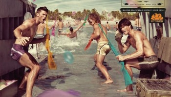 Modelli 3D Campagna Pubblicitaria Di Sundek – Soggetti Mare