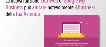Per La Tua Strategia Di Social Marketing, Utilizza La Funzionalità Sito In Google My Business