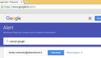 Utilizzare Google Alert Per Verificare E Gestire La Vostra Web Reputation