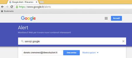 Utilizzare Google Alert Per Verificare E Gestire La Vostra Web Reputation